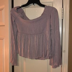 American Eagle Off the  shoulder shirt